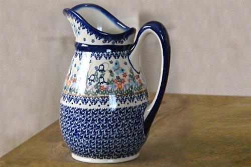 ポーランド陶器 ボレスワヴィエツ「VENA社」ピッチャー 特大