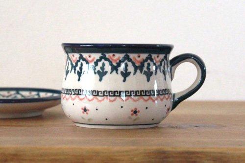 「ボレス」ぽってりカップ&ソーサー
