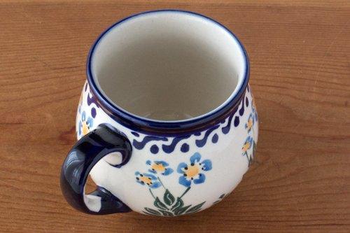 ポーランド陶器 ボレスワヴィエツ「ミレナ社」バブルマグ 小 0.2L