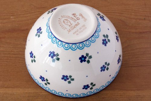 ポーランド陶器 ボレスワヴィエツ「ミレナ社」アイスクリーム・ボウル