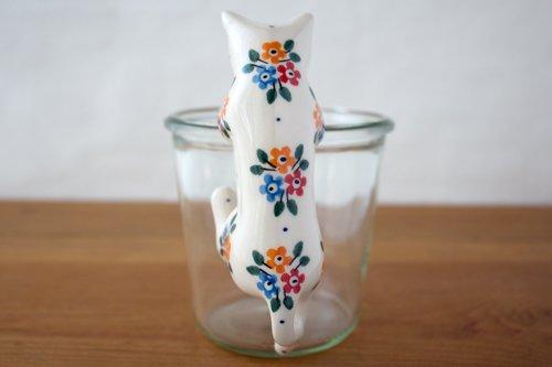 ポーランド陶器 ボレスワヴィエツ「ミレナ社」ねこ hanging