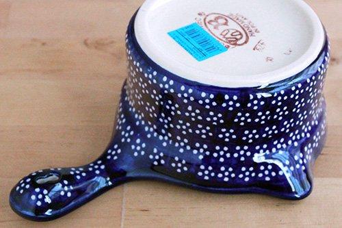 ポーランド陶器「ボレスワヴィエツ社」ソースパン0.5L