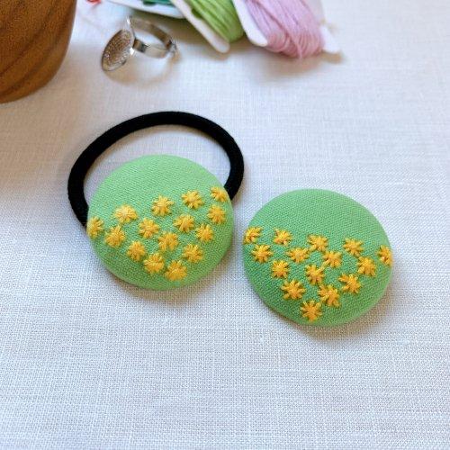 くるみボタン-米刺し-