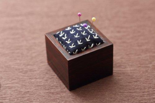 大槌刺し子×Iwayadocraft 針山 (笹)