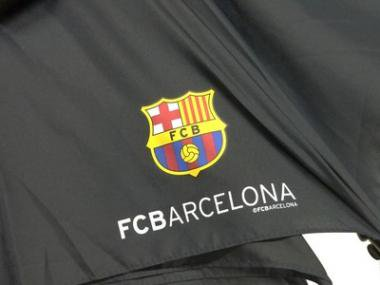 サッカーグッズ バルセロナ 傘(紳士用)