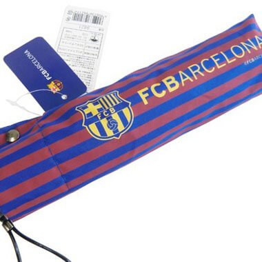 サッカーグッズ バルセロナ 傘(折りたたみ)