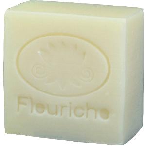 【無香料 フラワーソープシリーズ】男性や赤ちゃんの乾燥肌対策にも 完全無添加無香料 オリーブの雫石鹸10…