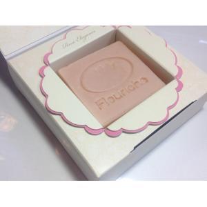 【ホホバオイル配合 フラワーソープシリーズ】ローズの香りのゴージャス石鹸 ローズエレガンス石鹸100g