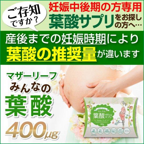 マザーリーフ みんなの葉酸 240【妊娠...