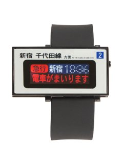 小田急線電光掲示板ウオッチ 下北沢駅バージョン