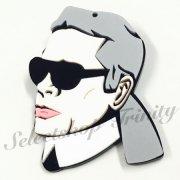 【TRINITY SELECT】セレブブローチ� Karl Lagerfeld(カール・ラガーフェルド)