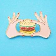 【Coucou Suzette】Burger Pin