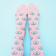 【Coucou Suzette】Glittery Eyes Socks