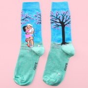 【Coucou Suzette】Date under the Cherry Tree Socks