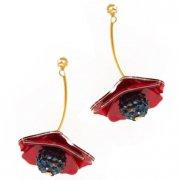 【LaliBlue】Poppies Earrings