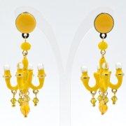 【TIMBEE LO】Chandalier Earring Yellow