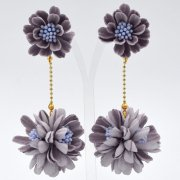 【TIMBEE LO】Daisy Ball Earring Purple