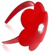 【Anna Lou OF LONDON】Red Daisy Headband