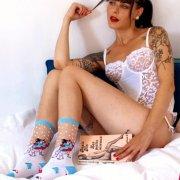 【Coucou Suzette】Ski Teacher Transparent Socks