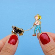 【Coucou Suzette】Dog Walk Pin