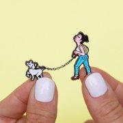 【Coucou Suzette】Poodle Walk Pin