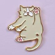 【Coucou Suzette】Flexible cat Pin