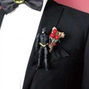 【BOW TIE(蝶ネクタイ)】BATMAN(ブローチ付)