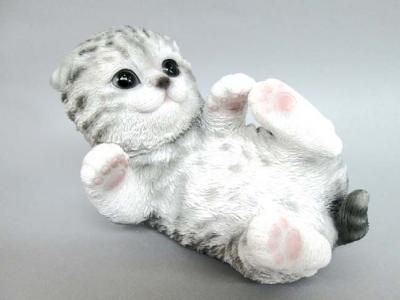 猫の置物 ベビーキャット ミニョン  ネコ キャット 人形