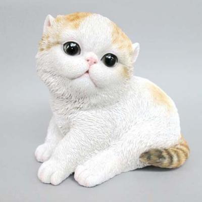 猫の置物 ベビーキャット ペルシャ  ネコ キャット 人形
