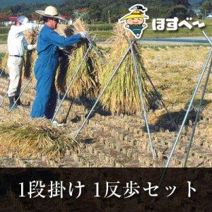 稲掛け支柱(ほすべー)B-3【1反歩セット】(10a・1段掛け用)
