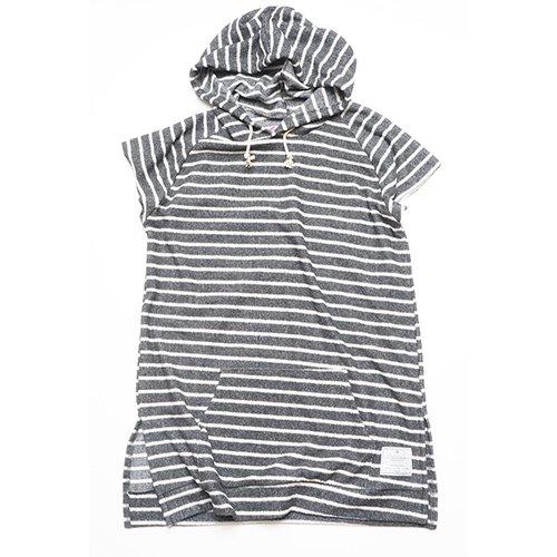 EFFECTEN/エフェクテン     sleeveless hooded