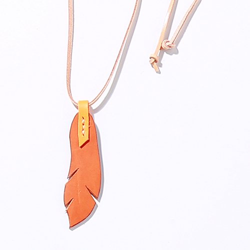 EFFECTEN/エフェクテンfeather necklace SMALL