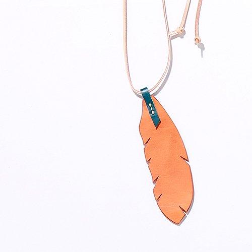EFFECTEN/エフェクテンfeather necklace MEDIUM