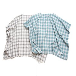 EFFECTEN(エフェクテン)   Ombre check Hewn shirts