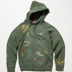 SEVESKIG/セブシグ   EMBROIDERY USED PARKA