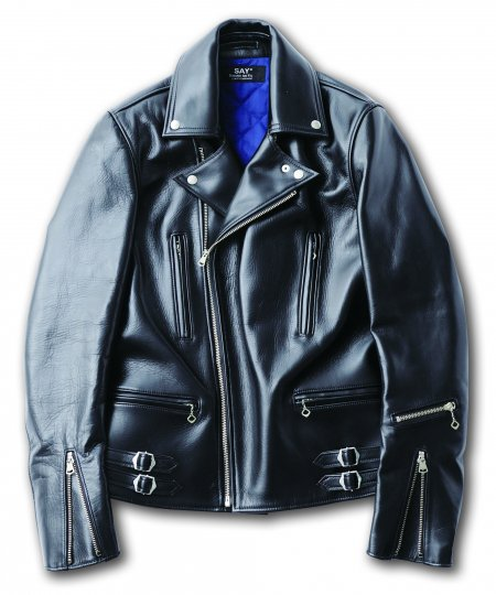 SAY(セイ)  LEATHER RIDERS JKT