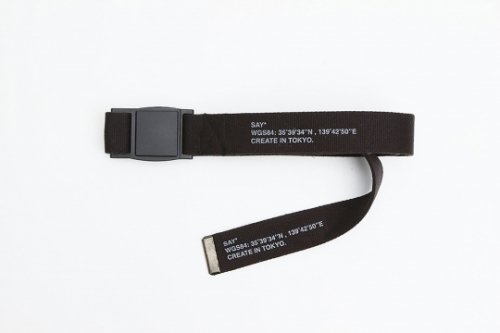SAY(セイ)    MAGNETIC SLIDE BUCKLE ARMY BELT