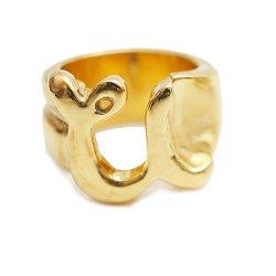 [予約商品]EFFECTEN/エフェクテン   'u'pinky ring'gold'