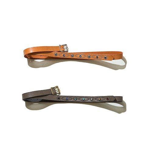 [予約商品]EFFECTEN/エフェクテン    narrow long belt(studs type)
