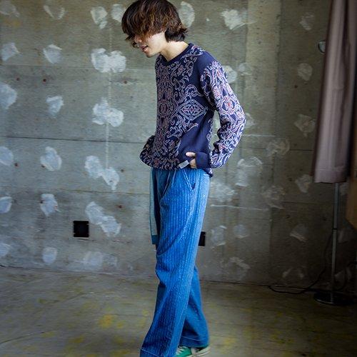 [予約商品]EFFECTEN/エフェクテン    Persian Pattern knit