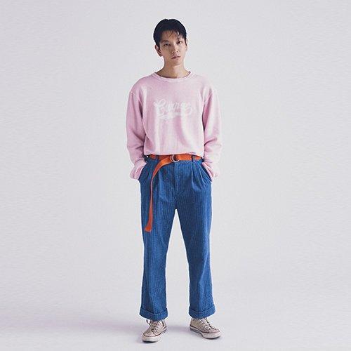 [予約商品]EFFECTEN(エフェクテン)    corduroy 2tack wide pants