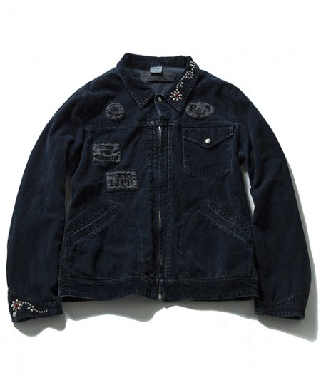 EFFECTEN/エフェクテン    Patch Corduroy Jacket