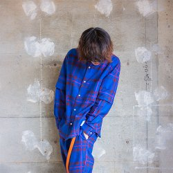 EFFECTEN/エフェクテン    Elliott tartan layered shirts