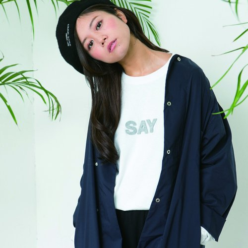 SAY(セイ) L/S TEE