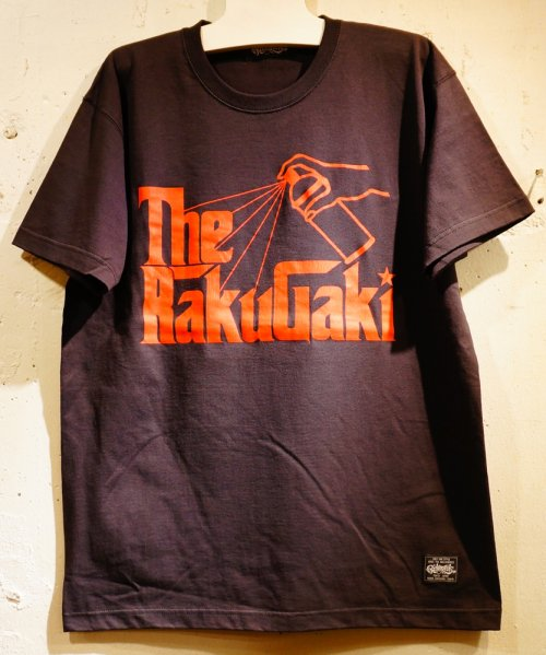 The RAKUGAKI Father Logo T-Shirts