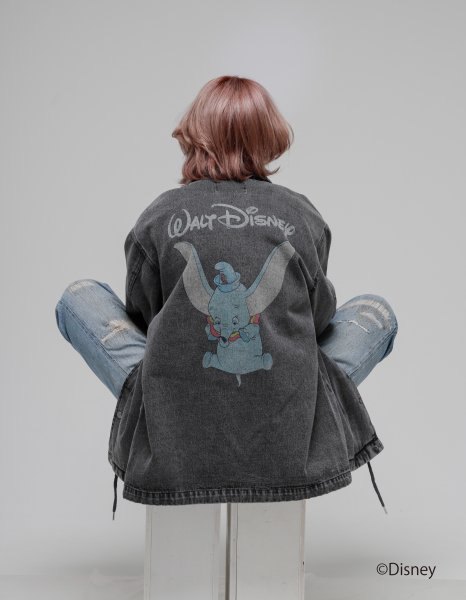 [予約商品]utility disney collection'DUMBO COACH JKT'