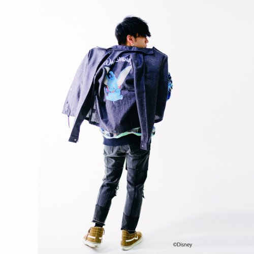 utility disney collection'DUMBO COACH JKT'(hemp textile)