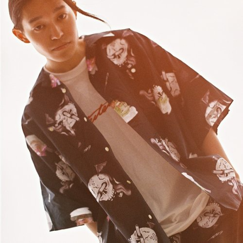 EFFECTEN(エフェクテン) original graphic aloha shirt