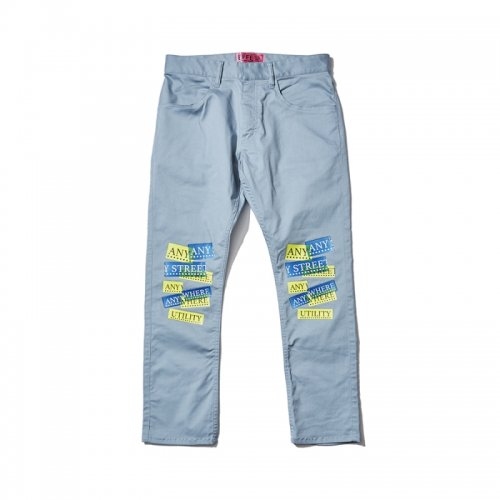 [予約商品]EFFECTEN(エフェクテン) skinny pants'ANY STREET ANY WHERE'