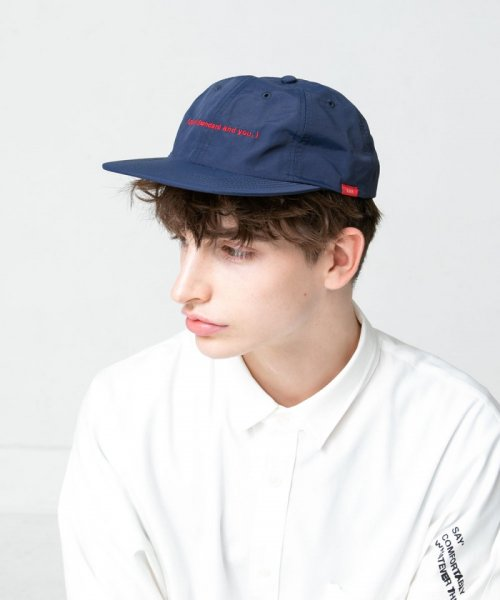 [予約商品]SAY!(セイ) EMBROIDERY NYLON CAP